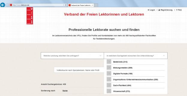 Lektorenverzeichnis Lektor gesucht Lektor finden