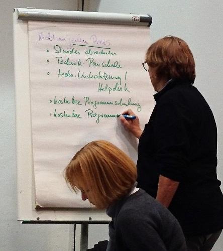 Themenabend Lektorenverband VFLL Lektorat und Technik München Ursula Welsch