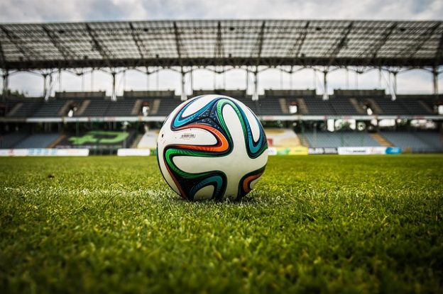 """""""Der Ball ist rund"""": Fußball und Sprache Quelle: Pixabay"""