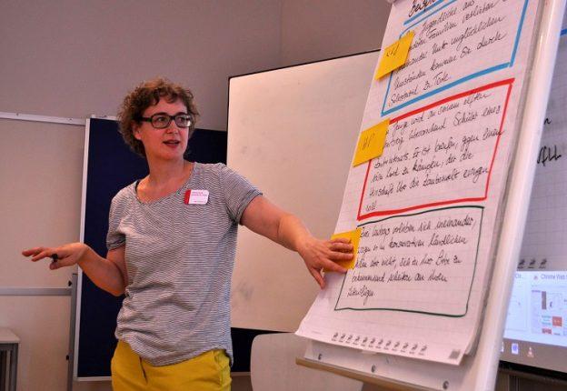 Lektorenverband VFLL auf dem Literaturcamp Bonn Session Kathrin_bearbeitet